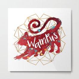 Wampus Metal Print