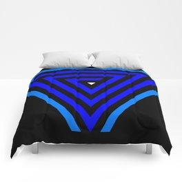 Vainessum - blue integration Comforters