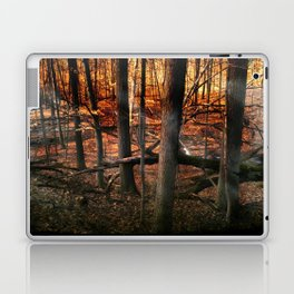 Sky Fire - surreal landscape photography Laptop & iPad Skin