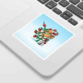Rudolph the Red Nosed Reindeer Sticker