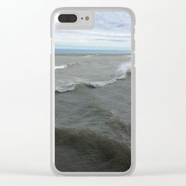 Chicago view Clear iPhone Case