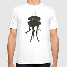 Probe droid Mens Fitted Tee X-LARGE White