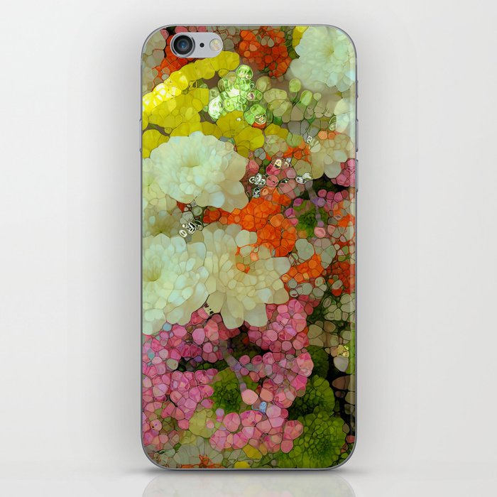 Joyous Spring Bouquet iPhone Skin