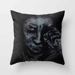 World Weary Throw Pillow
