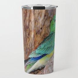 Graceful Parakeet Travel Mug