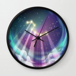 Grand Chariot Wall Clock
