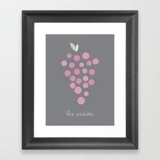 Les Raisins Framed Art Print