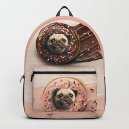 Pugs Succulent Donuts Backpack