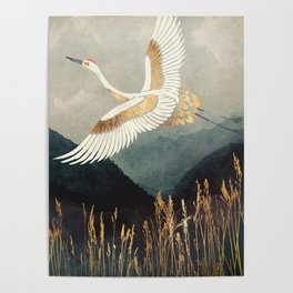 Elegant Flight Poster