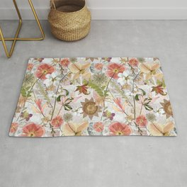 Pink Maximalist Collage Rug