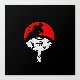 Uchiha Sasuke Clan Canvas Print