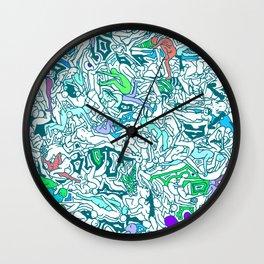Kamasutra LOVE - Sea Blue Wall Clock