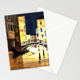 Evening In Venice Italy Stationery Cards