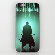 Morpheus iPhone & iPod Skin