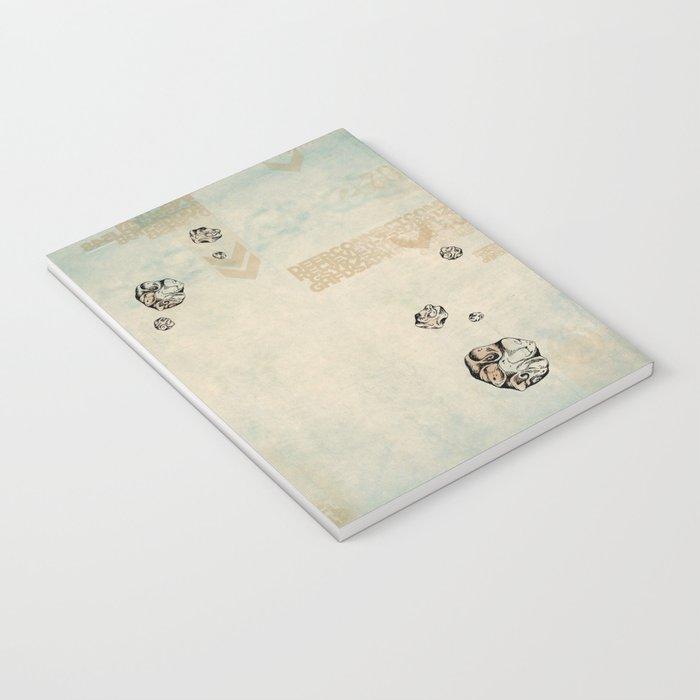 Asteroid Brain Diagnostics // (metaphysical deer) Notebook
