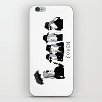 coven iPhone & iPod Skins featuring AHS Coven by ☿ cactei ☿