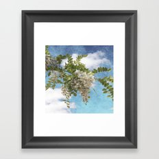 Flowers I Framed Art Print