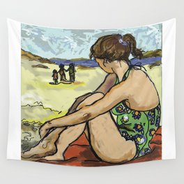 Dolly Dreaming (Saw Sea Series) Wall Tapestry