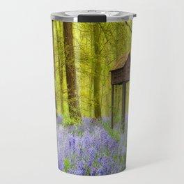 Birdhouse with view Travel Mug