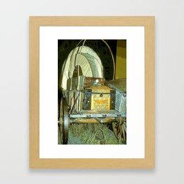 Covered Wagon Framed Art Print