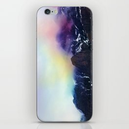 Mountain of Color Fog iPhone Skin