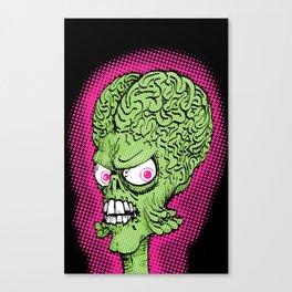Pop Martian Canvas Print