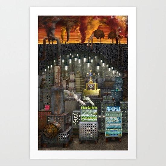Underworld Art Print