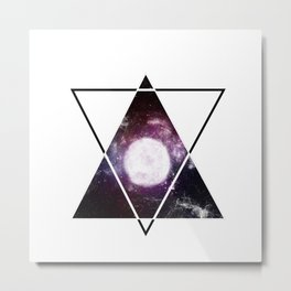 The Moon's Soul Metal Print