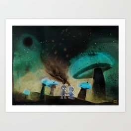 Wanderers 001 Art Print