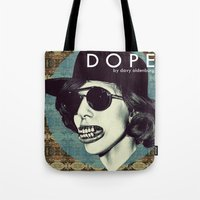 dope Tote Bags featuring DOPE by Davy Oldenburg