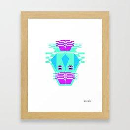Tronz 1 Framed Art Print