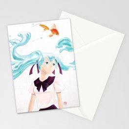 Bottle Miku Stationery Cards