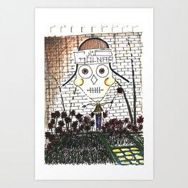 Captain Flower-Thief Art Print
