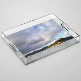 The Mouth of Andersons Bay Acrylic Tray