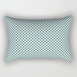 Bayberry Polka Dots Rectangular Pillow