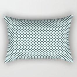 Bayberry Polka Dots Rectangular Pillow