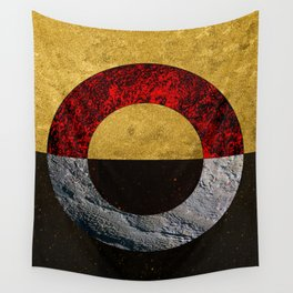 Abstract #155 Wall Tapestry