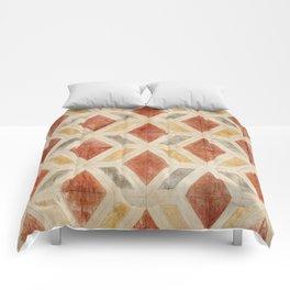 Rombos rojos Comforters