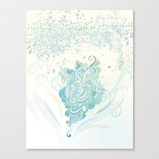 Wind tangle Canvas Print