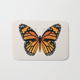 Monarch Butterfly | Vintage Butterfly | Badematte