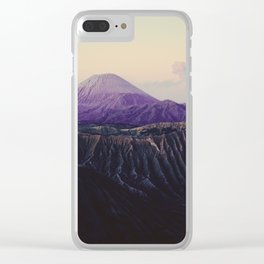 Majestic Bromo volcano, Indonesia Clear iPhone Case