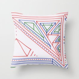 PowerLines 27 Throw Pillow