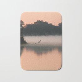 Morning Heron Bath Mat