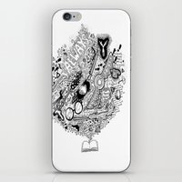 harry potter iPhone & iPod Skins featuring Harry Potter by Grace Fernandes