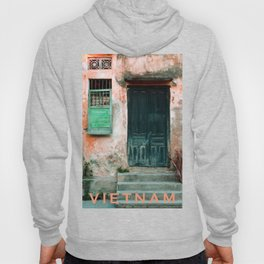 ANTIQUE CHINESE WALL of HOI AN in VIETNAM Hoody