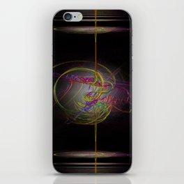 Neon Smoke  iPhone Skin