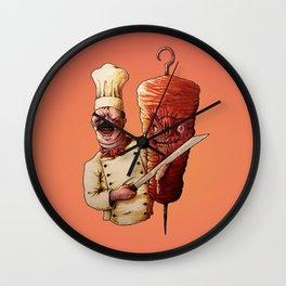 EVIL KEBAB MASTER Wall Clock