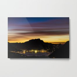 The Glow of Pilatus Metal Print
