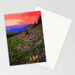 Washington, Mount Rainier National Park Stationery Cards