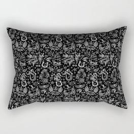 Old School Tattoo Pattern Rectangular Pillow